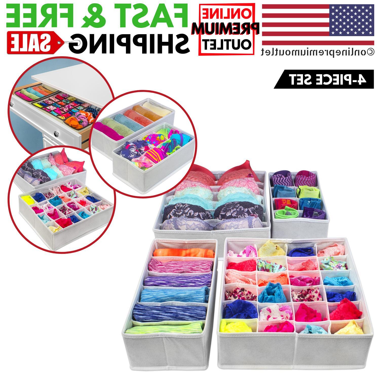 drawer divider storage box closet clothes organizer