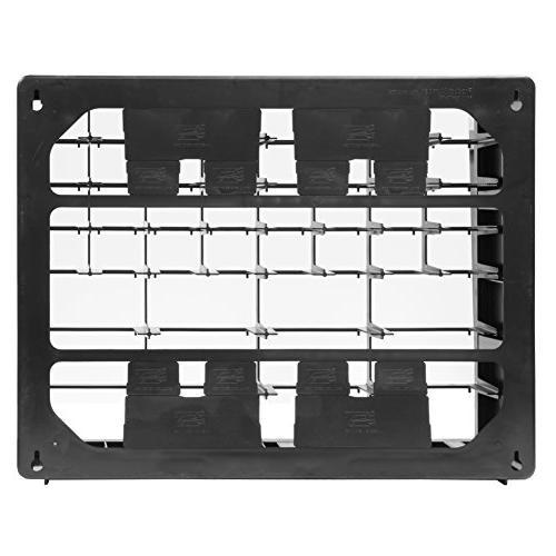 Akro-Mils 10124 24 Plastic Parts Storage x 16-Inch x Black