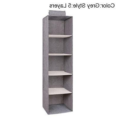 Drawer Hanging Wardrobe Organizer Storage Box Clothes Bedroom