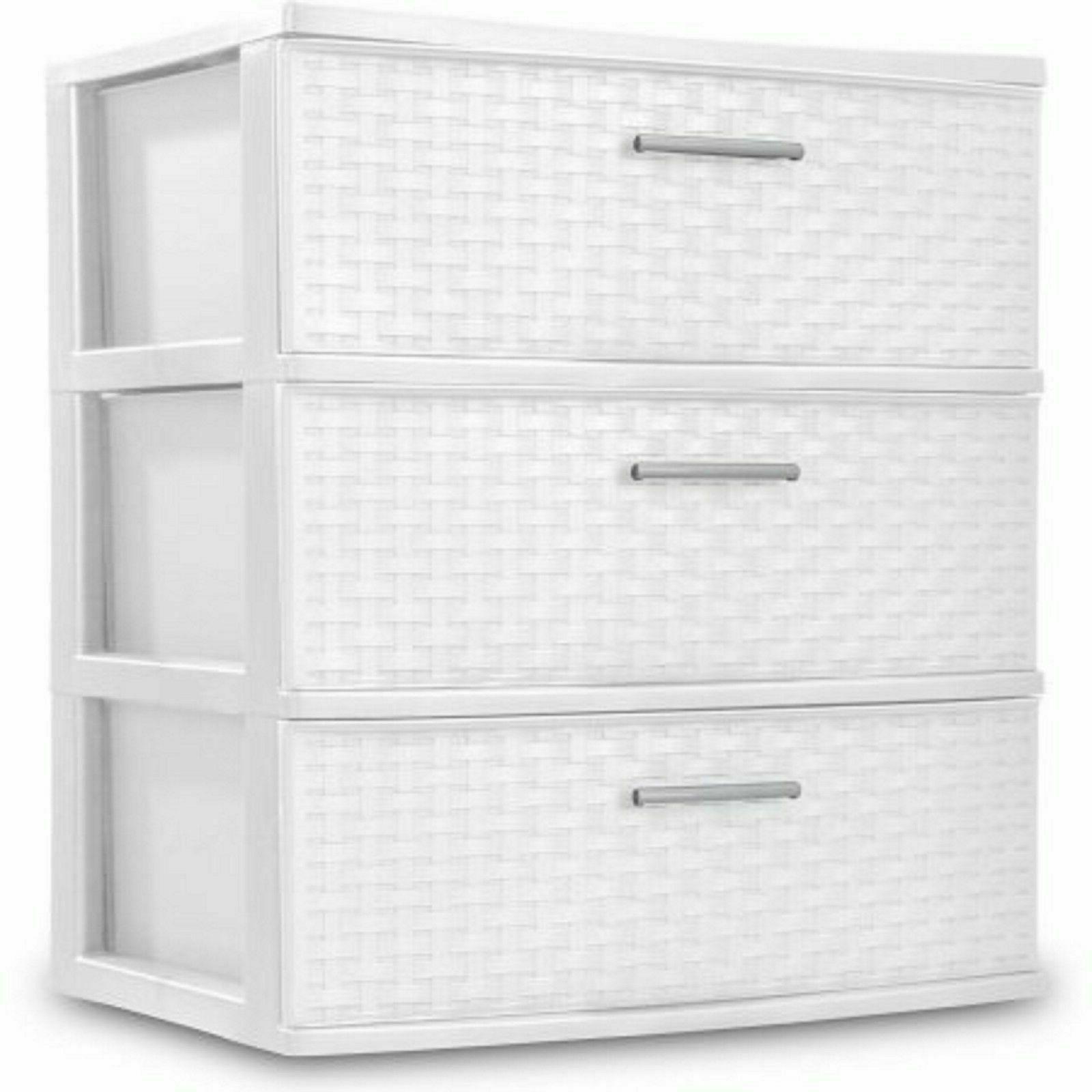 dresser storage plastic clothes organizer cabinet 3