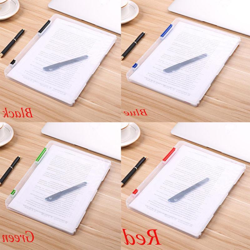 Durable A4 Transparent File Document