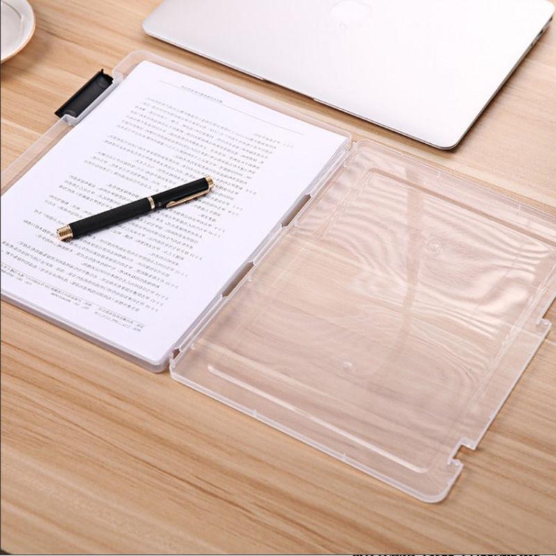 Durable School Transparent File Document