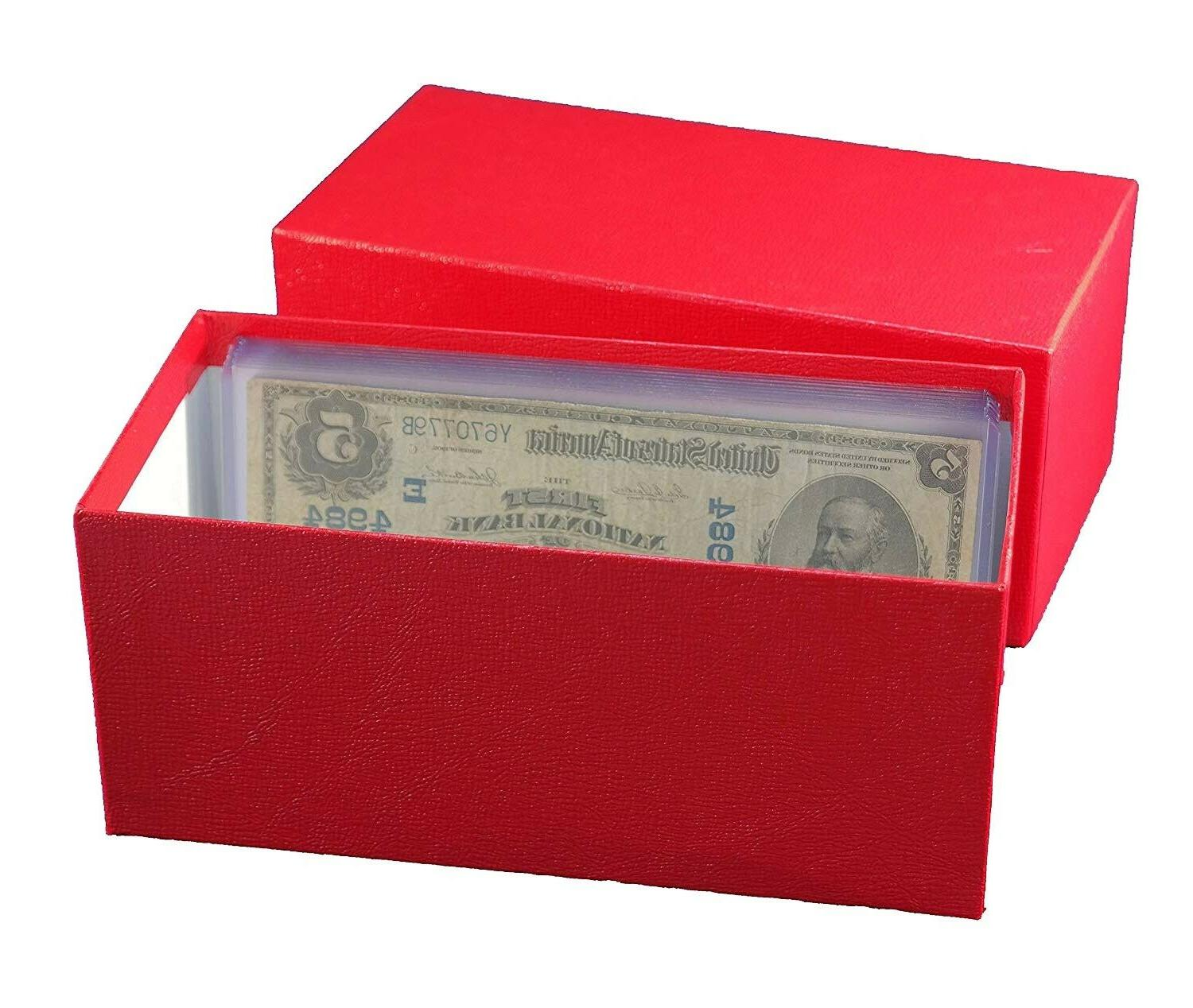 durable paper money bill box banknotes collection