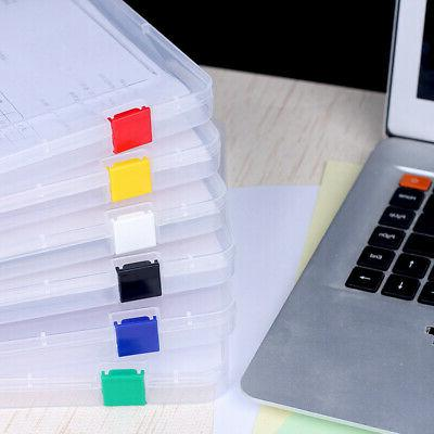 Durable Cases Plastic Document Supplies