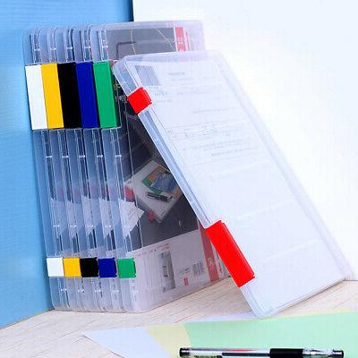 durable storage box cases plastic document box
