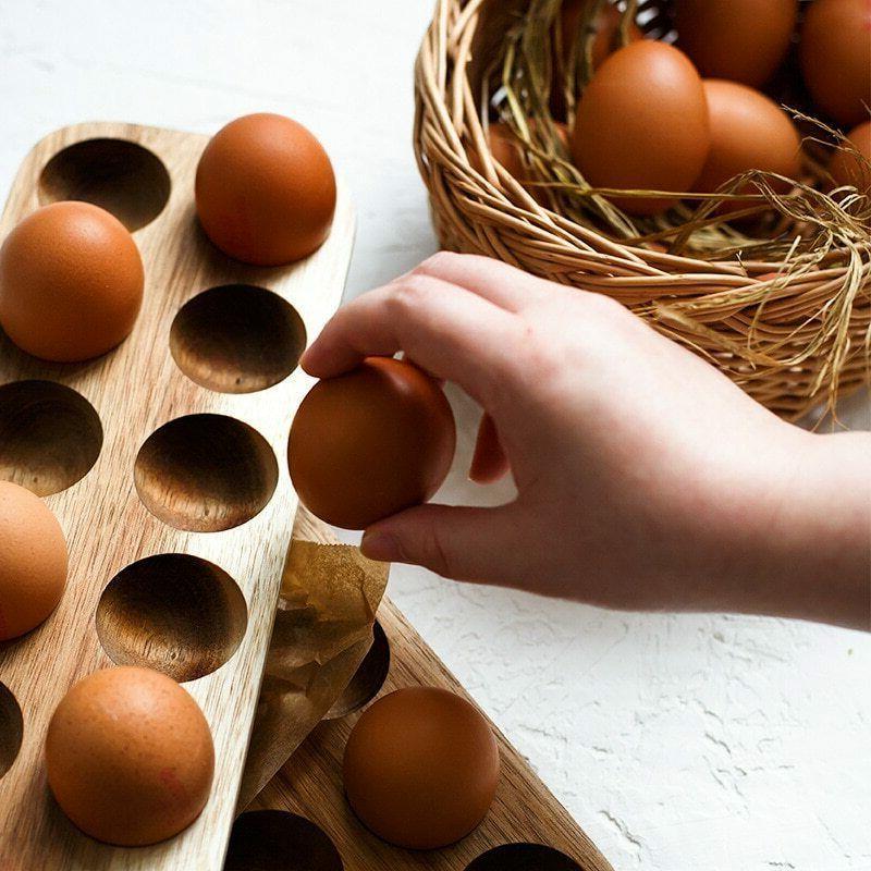 Egg Home Organizer Row Holder Kitchen Accessories