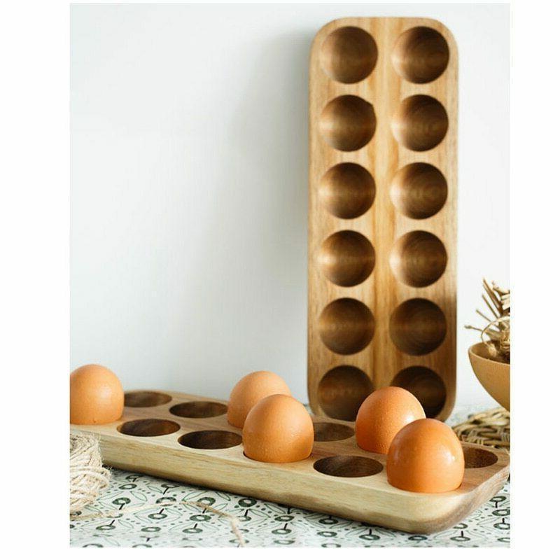 Egg Storage Home Organizer Holder Accessories