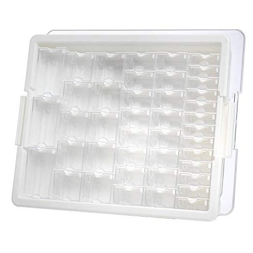 Darice Ward Storage Assorted of Various with a Tray for EWC0510