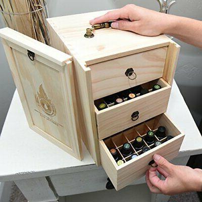 Essential Wooden Case Handle. 75 Bottles &