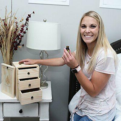 Wooden Storage Handle. Holds 75 & B