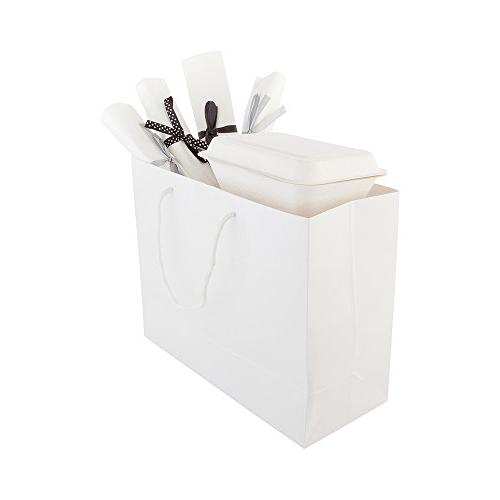 extra glossy shopping takeout bag
