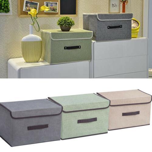 fabric cube storage box bin organizer container