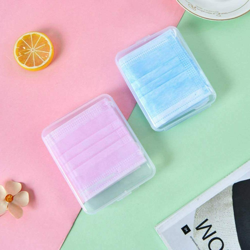 Face Container 2 Set; PP Protection Case Box