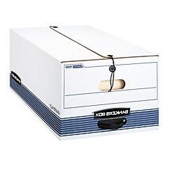 Bankers Box FastFold Stor/File 60% Recycled Storage Boxes, S