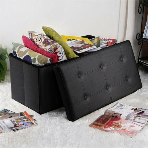 Faux Leather Sofa Ottoman Footrest US