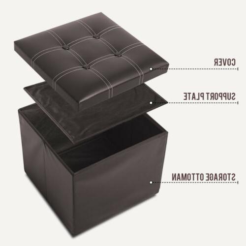 Faux Square Box Seat