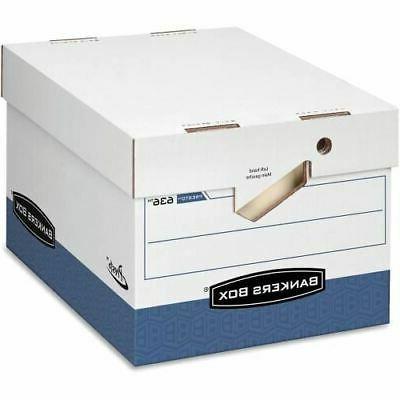 Fellowes Presto Storage Box with Locking Lid - TAA Compliant