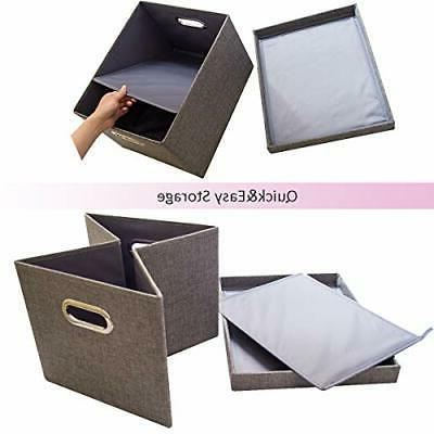 File Storage 2 Pcs Collapsible Office