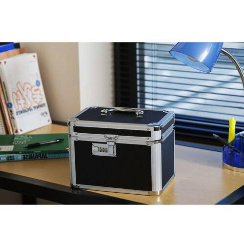 Waterproof Fire Lock Box Security Resistant Storage
