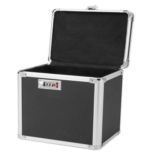 Waterproof Fire Lock Chest Box Resistant Storage