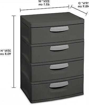 Flat Gray Drawer Unit Garages Basement Utility