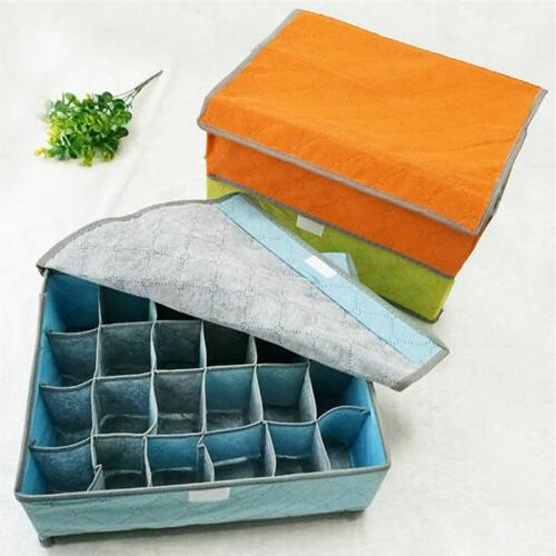Foldable Drawer Divider Storage Box For Underwear USA