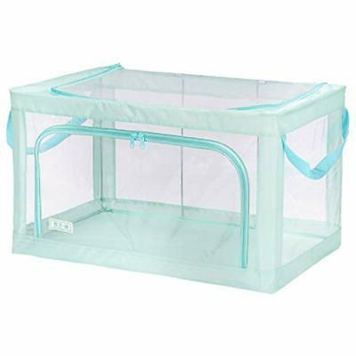 foldable closet systems storage bins boxes stackable