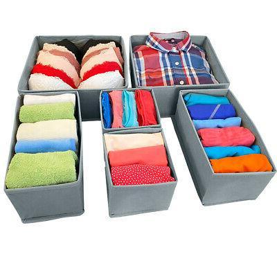 foldable cloth drawer storage box closet dresser