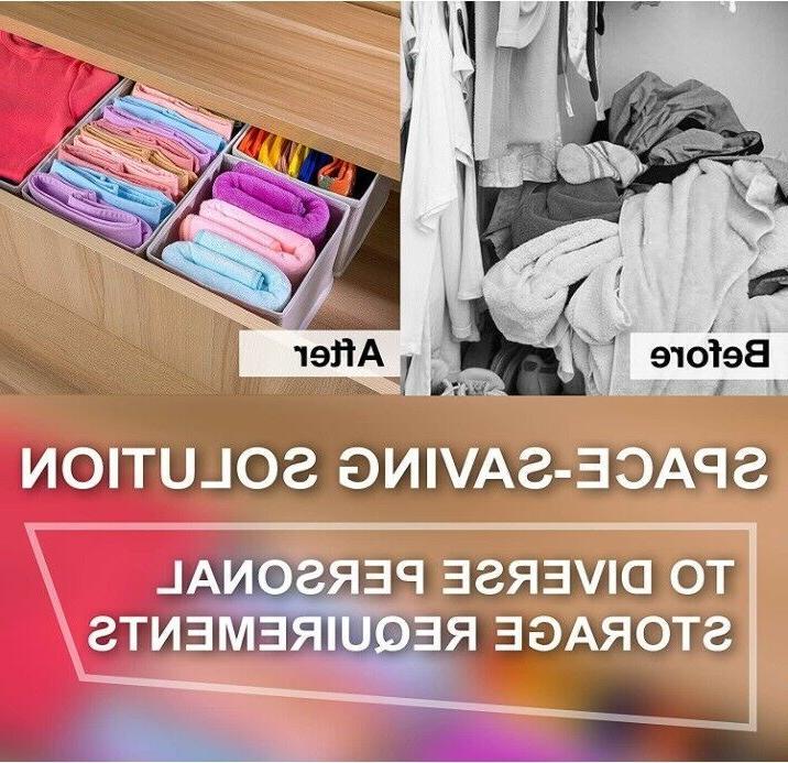 Foldable Cloth Dresser Organizer Storage Box