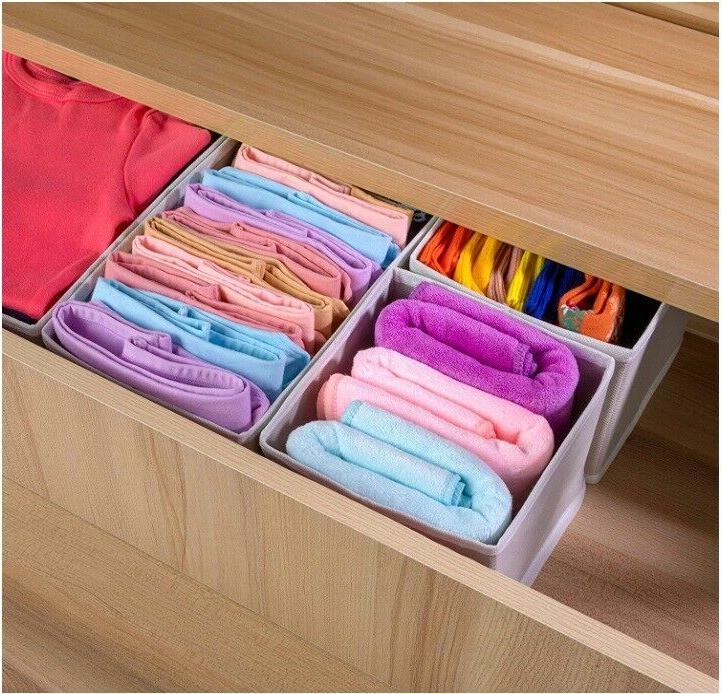 Foldable Drawer Organizer Box