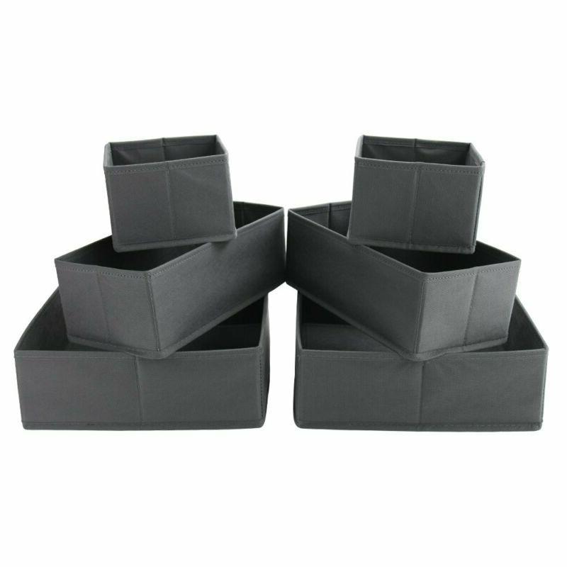 Homyfort Box Drawer Organizer Cube Basket