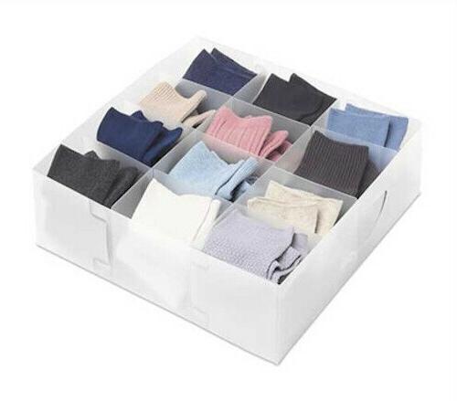 Foldable Cloth Storage Drawer Organizer – Dividers- Dresser