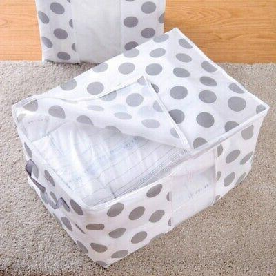 Foldable Canvas Storage Collapsible Folding Box Fabric Cube