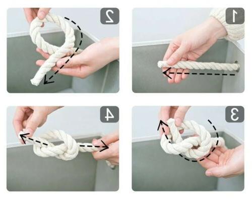 StorageWorks Cube Basket Rope