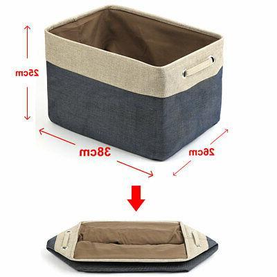 Foldable Linen Toy Laundry Storage Rope