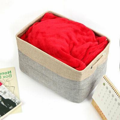 Foldable Laundry Basket Rope Shelves