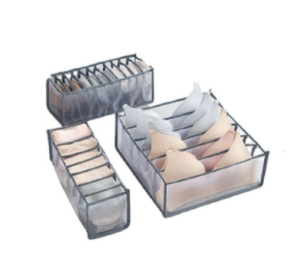 foldable drawer organizer divider closet storage box