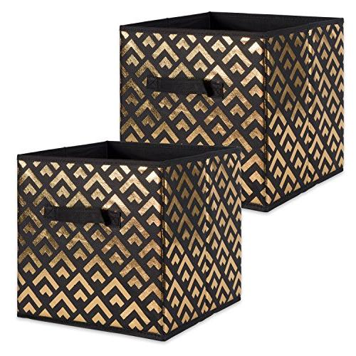 foldable fabric storage containers double