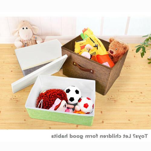 Foldable Home Closet Bag Clothes Organizer Box Drawer