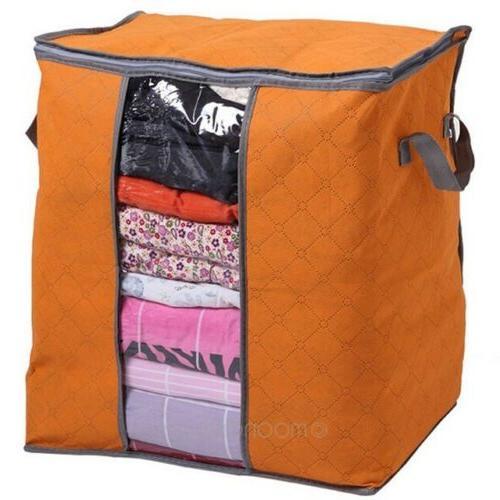 Foldable Closet Bag Anti-bacterial Cloth Quilt USA