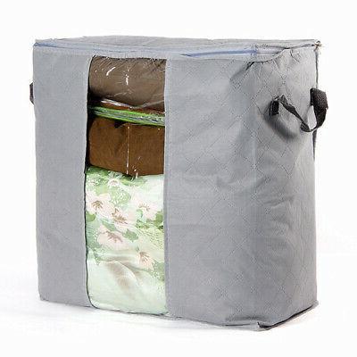 Foldable Home Closet Storage Bag Box Anti-bacterial Cloth USA