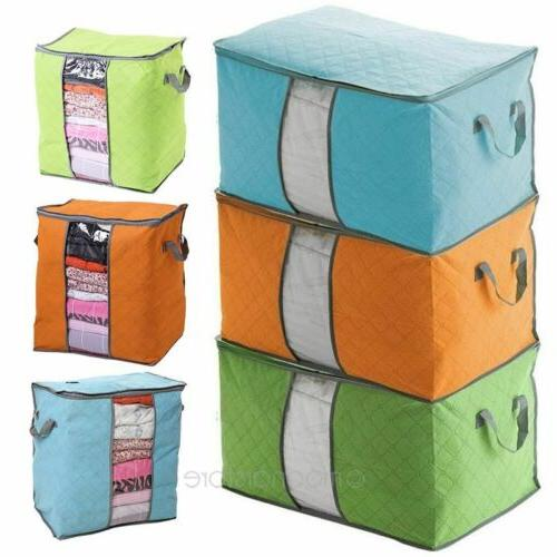 Foldable Home Storage Bag Organizer Anti-bacterial Cloth USA