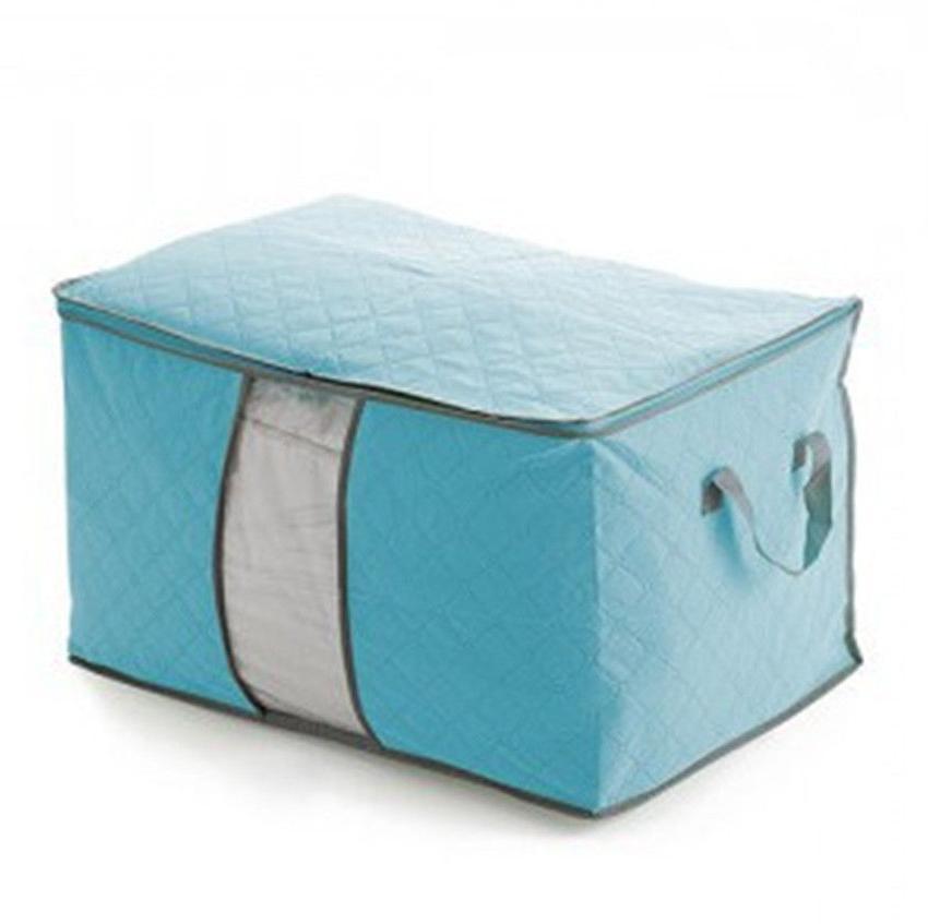 Foldable Home Closet Storage Bag Box Clothes KY
