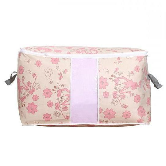 Foldable Home Bag Organizer Anti-bacterial Clothes Quilt