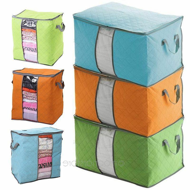 foldable home closet storage bag organizer box