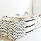 Foldable Laundry Clothes Bucket Organizer Products Storage B