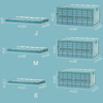 Plastic Bra Storage Box Closet Collapsible Organizer