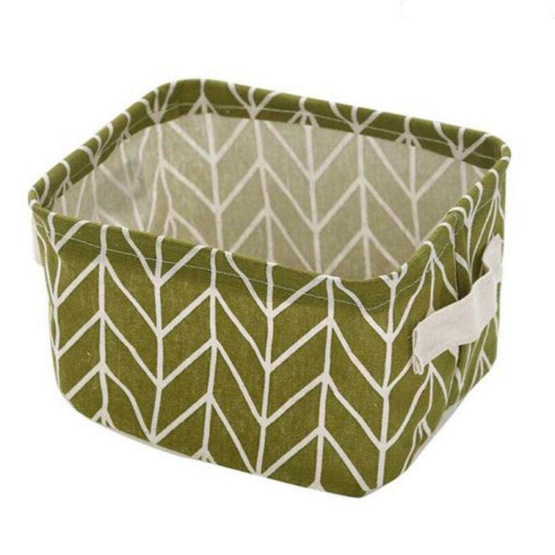 Square Collapsible Box Cubes Basket