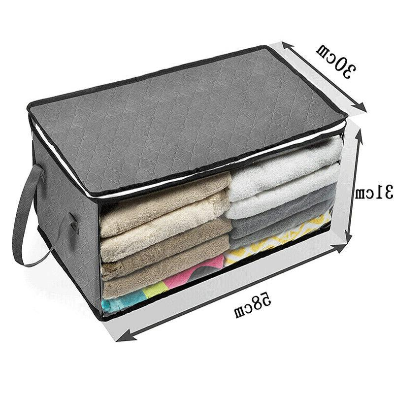 Foldable Bag Clothes Blanket Box Organizer