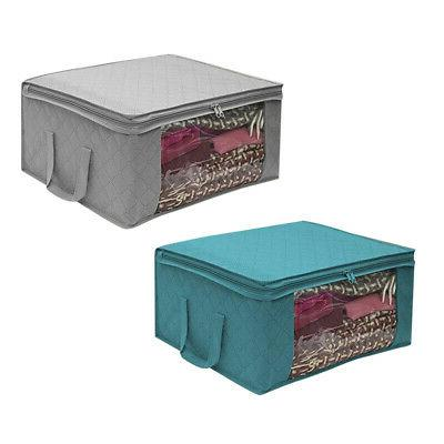 Foldable Blankets Container Storage